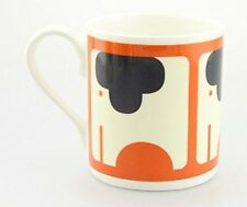 Orla Kiely Bone China Mug - Persimmon Orange Elephant design