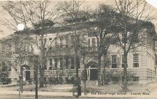 Laurel MS * Old Junior High School 43rd Birthday ca. 1940 * Jones Co.