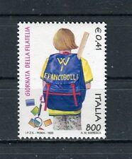 Italia 1999 giornata della filatelia MNH