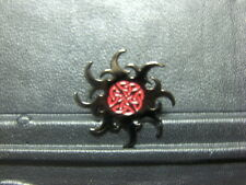 Pin Sonne Wurfstern Gothic Abzeichen - 3 x cm
