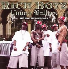 FREE US SH (int'l sh=$0-$3) NEW CD Romeo Presents Rich Boyz: Young Ballers - The