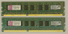 Kingston KVR1333D3E9SK2/8g 2x 4GB PC3-10600E ECC 2Rx8 DDR3-1333MHz unbuffered