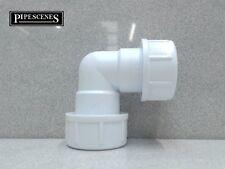 """Mcalpine Universal tubo overflow piega del gomito si adatta 19-23mm 3/4"""" r2m di tubo"""