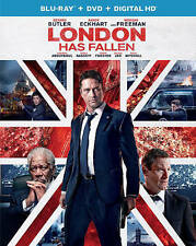 London Has Fallen (Blu-ray/DVD, 2016, 2-Disc Set) NEW WITH ULTRAVIOLET.