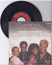 """Chilly, Johnny Loves Jenny, G/VG,  7"""" Single 0991-4"""