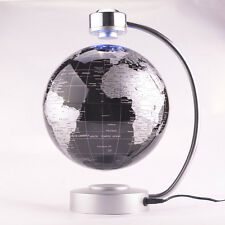 8'' Anti-Gravity Rotating World Map Earth Magnetic Floating Globe Fantastic Gift