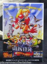 Top Hunter Roddy & Cathy Video Game Box Fridge / Locker Magnet. Neo Geo SNK