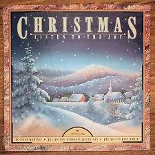 NOS Christmas Listen To The Joy [LP] Domingo London Orchestra Vienna Boys Choir