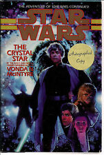 AUTOGRAPHED HAND SIGNED Star Wars The Crystal Star Vonda N. McIntyre COA FreeSH