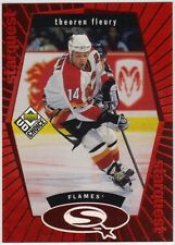 THEOREN FLEURY 1998-99 UD CHOICE STARQUEST RED #SQ13