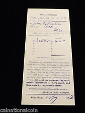 1883 Home Insurance Co. of New York Policies Application Notice 010