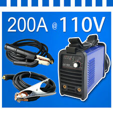 110V 200A IGBT MMA/ARC Welder welding machine 3.2mm welding rod In US Stock