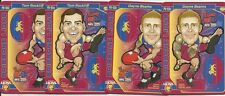 2017 AFL TEAMCOACH FOOTY POP UPS BRISBANE LIONS TEAM SET 4 CARDS TEAM COACH