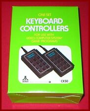 2 Keyboard Keypad Controllers for the Atari 2600 System NEW IN BOX