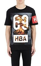 HBA Hood By Air 69 Explosion Graphic Tee, Deadstock, Men's M, Black
