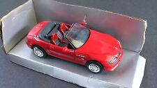 New Ray 1:32 Scale BMW Convertible Red w/ Booklet