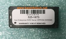 525-1673 IDPROM NVRAM For Sun Enterprise E450 Server New Battery 1 Year Warranty