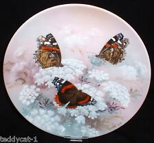 On Gossamer Wings ~ 8. Bradex Schmetterling Sammelteller RED ADMIRALS ~ Lena Liu