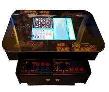 3 Sided Cocktail Arcade Machine With 1000+ Games