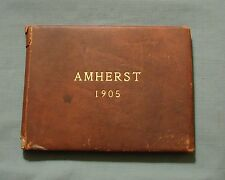 1905 AMHERST COLLEGE YEARBOOK AMHERST MASS. *THE SENIOR CLASS BOOK* PHOTOGRAPHS