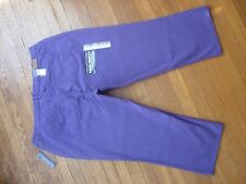 NWT WOMENS BANDOLINO VIOLET BLOOM SUPER STRETCH CAPRI PANTS/JEANS SIZE 18W
