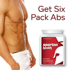 SPARTAN HEALTH EXTREME CARB BLOCKER PILLS CARB BINDER DIET TABLET SEE MUSCLE