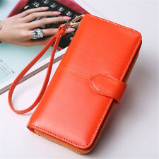 Fashion Lady Women Leather Wallet Long Card Holder Case Clutch Purse Handbag US