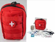 READI USA TACTICAL TRAUMA FIRST AID KIT #1 - RED MOLLE BAG