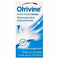 OTRIVINE ADULT NASAL DROPS - 10ML