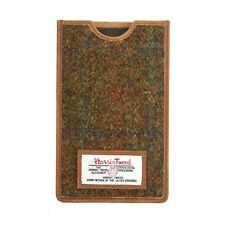 Genuine Stornoway Harris Tweed Phone Case Leather Trim Boxed