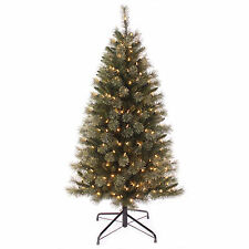 5ft Pre-lit Christmas Tree With Warm White LED Lights Artificial Xmas Decoration