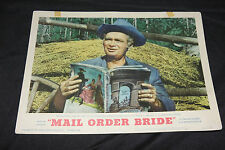 1964 Mail Order Bride Lobby Card 64/20 #8 Buddy Ebsen MGM (C-4)