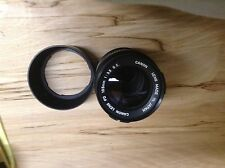 Canon FD 135 f 3.5 s.c.c with Hood