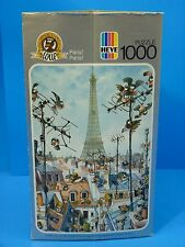 Vintage Loup ''Paris! Paris!'' Heye Puzzle 1000 Pieces (1987) Germany COMPLETE!