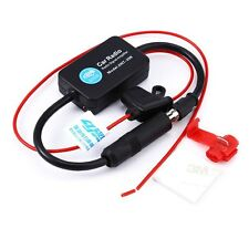Universal Auto Car Radio FM Antenna Signal Amp Amplifier Booster Radio FM