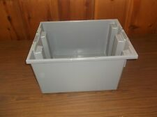 """New Stack and Nest Container, Polymer, 19-1/2"""" Outer L, 15-1/2"""" Outer W (EF)"""