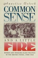 Common Sense and a Little Fire: Women and Working-Class Politics in the United..