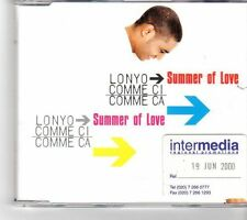 (FK500) Lonyo, Comme Ci Comme Ca, Summer Of Love - 2000 CD