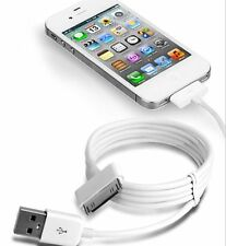 USB Sync Data Charging Charger Cable Cord for iPhone 4 4S 4G 4th IPOD NEW