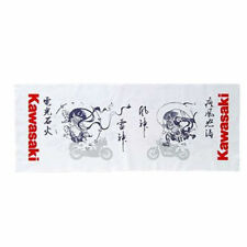 "KAWASAKI Official ""Fujin Raijin"" Japanese Towel TENUGUI  Cotton 100% Best Buy"