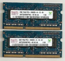 4GB (2GB X2 Kit) Apple iMac/MacBook/MacBook Pro 1333MHz DDR3 Notebook Memory