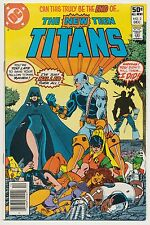 New Teen Titans #2 DC Comics 1980, 1st app Deathstroke The Terminator, Perez Art