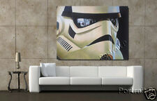Star Wars Oil Painting Art Stormtrooper Canvas Hand-Painted NOT a Print Poster