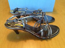 MANAS LEA FOSCATI SHOES SCARPA SANDALO DONNA 100% PELLE MADE IN ITALY NEW tg. 39