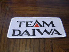 TEAM DAIWA FISHING LURE PATCH REELS RODS  (PUT ON  HAT VEST JACKET) HUNTING