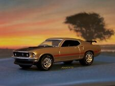 1969 69 FORD MUSTANG MACH 1 - 1/64 SCALE DIECAST MODEL  DIORAMA - COLLECTIBLE