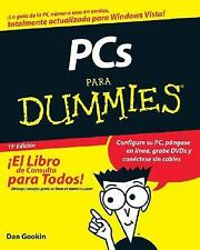 PCs Para Dummies (Spanish Edition), Gookin, Dan, Good Condition, Book