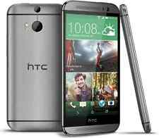 5''HTC One M8 (Unlocked) 4G LTE 32GB Dual 4MP Camera - Gray Android Mobile Phone