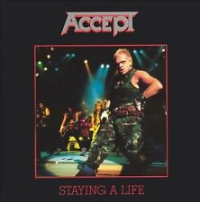 Staying a Life by Accept (CD, Apr-1997, Bmg)
