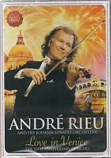 ANDRE RIEU LOVE IN VENICE THE 10th ANNIVERSARY CONCERT BRAND NEW SEALED DVD 2014